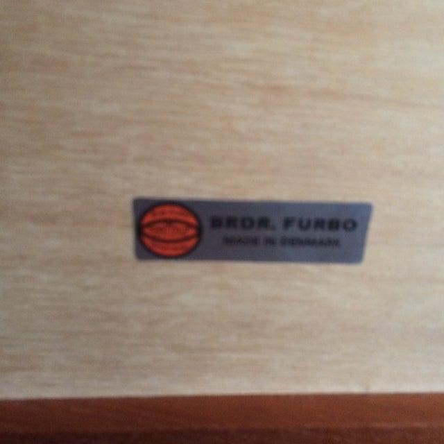 BRDR Furbo Danish Modern Teak Table - Image 8 of 9