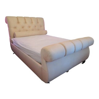 Hollywood Regency Queen Bed For Sale