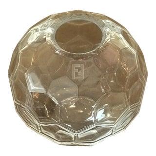 Fendi Diamond Murano Vase For Sale