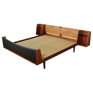 Danish Teak Bed by Getama Queen Size 2 of 2 For Sale