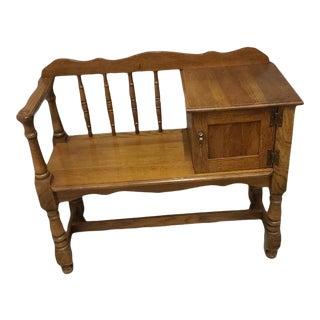 Vintage Telephone Desk For Sale