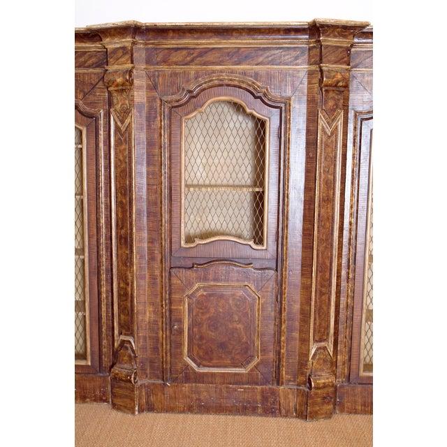 Italian Mid-19th Century Italian Rococo Style Bookcase For Sale - Image 3 of 13