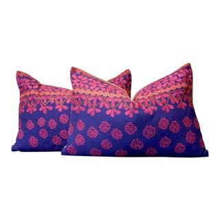 Hena Mathuravati Lumbar, Pair For Sale