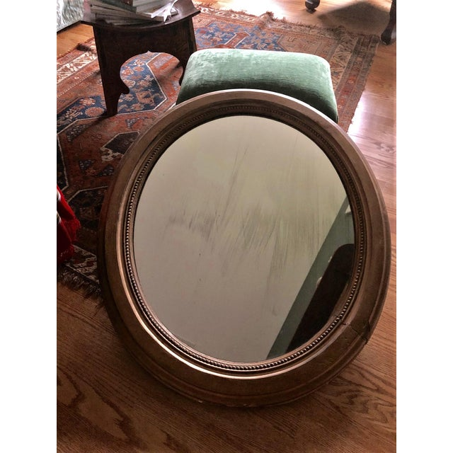 Early 20th Century Antique Framed Gold Mirror For Sale - Image 9 of 10