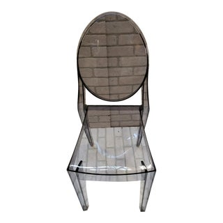 Philippe Starck for Kartell Victoria Ghost Smoke Chair For Sale