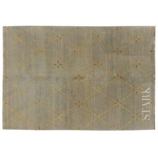 Stark Studio Rugs Contemporary New Oriental Tibetan Wool Rug - 5′6″ × 8′6″ For Sale