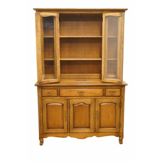 "20th Century Traditional Drexel Heritage Breton Collection 48"" China Cabinet Preview"