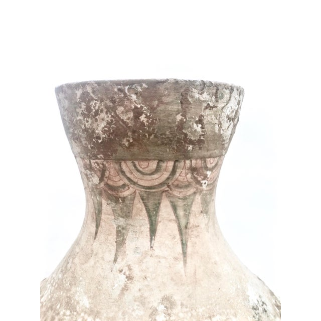 Chinese Han Dynasty Polychrome Hu Form Vessel - Image 9 of 11
