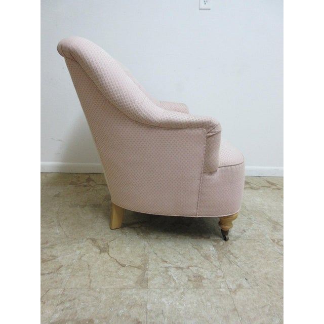 Ethan Allen Chesterfield Lounge Chair - Image 4 of 10