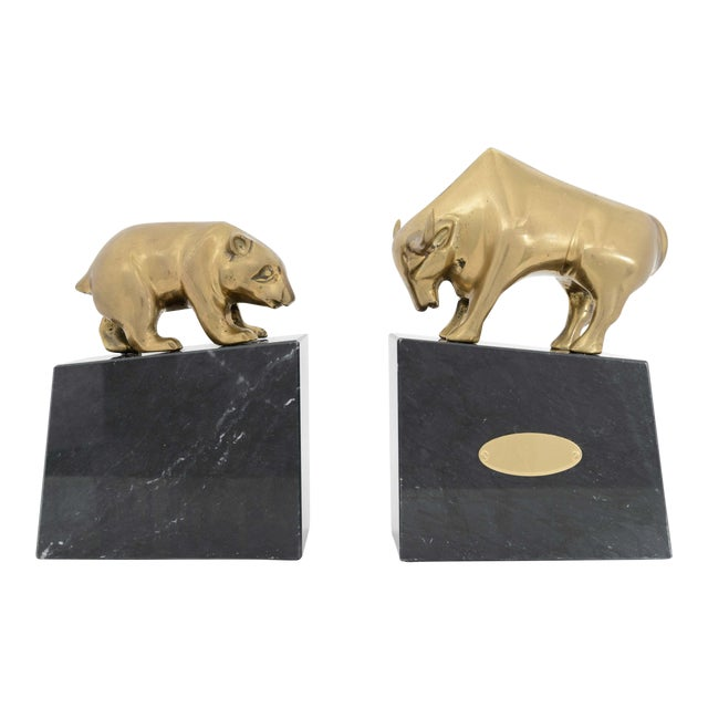American Art Deco Bookends- A Pair For Sale
