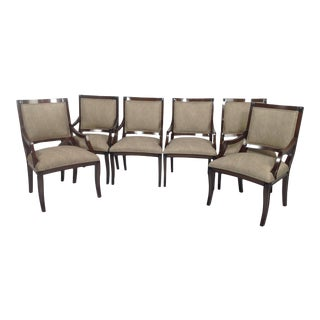Modern Mid Century Style Dining Chairs- Set of 6 For Sale