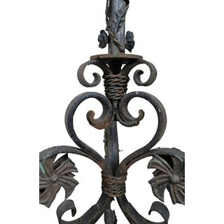 French Wrought Iron Torchieres - a Pair Preview