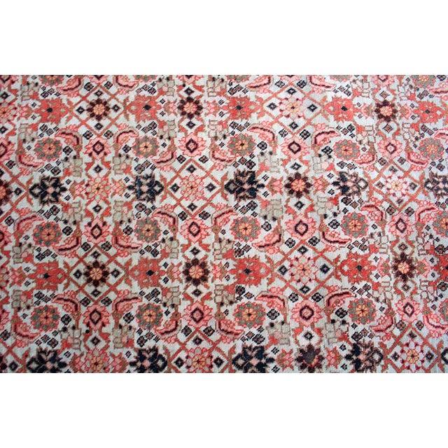"Contemporary Antique Decorative Persian Tabriz, Haji Jalili Style Area Rug - 4' x 5'5"" For Sale - Image 3 of 3"