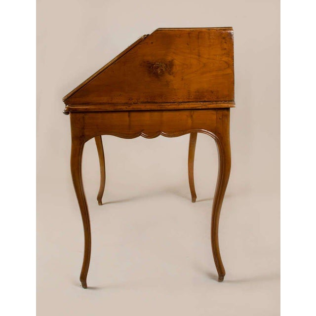 French Circa 1825 French Slant Front Writing Desk For Sale - Image 3 of 7