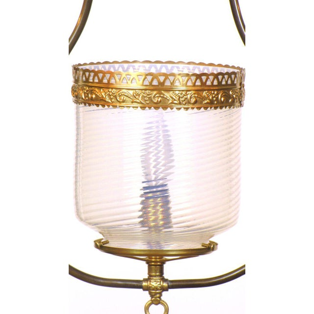 Opal Harp Lantern For Sale - Image 4 of 4