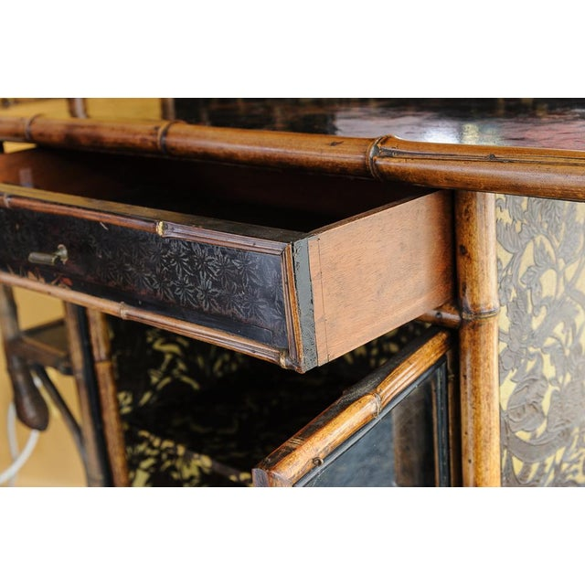 Bamboo cabinet For Sale - Image 10 of 11