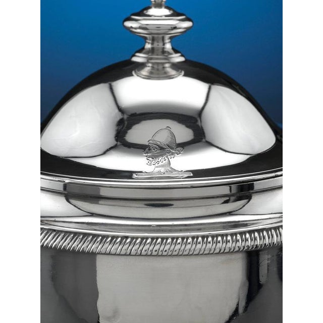 Mid 19th Century Silver Argyle Pot by Garrard For Sale - Image 5 of 8