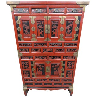 Antique Asian Cabinet For Sale