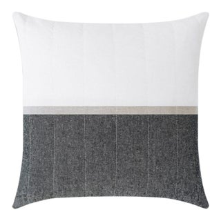 Louise Gray Throw Pillow No. 3
