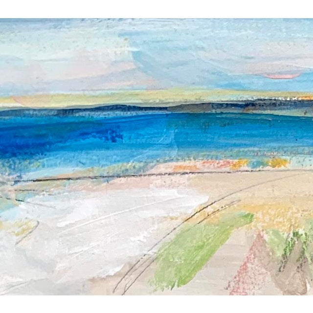 This piece is from my Seascape series which is a progression into a more subtle color palette; created by pulling from the...