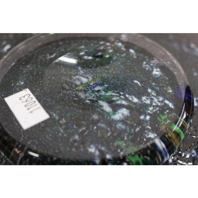 Bertil Vallien Bertil Vallien Kosta Boda Meteor Bowl For Sale - Image 4 of 7