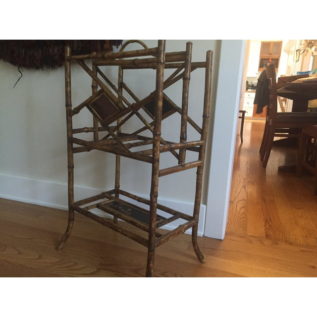 1880s French Bamboo Umbrella Stand - Image 6 of 7