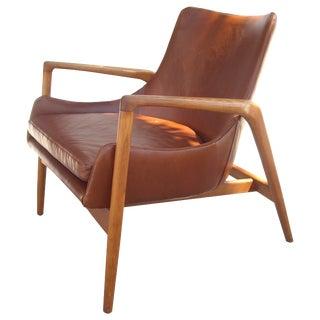 Mid-Century Ib Kofod-Larsen Denmark Easy Lounge Chair For Sale