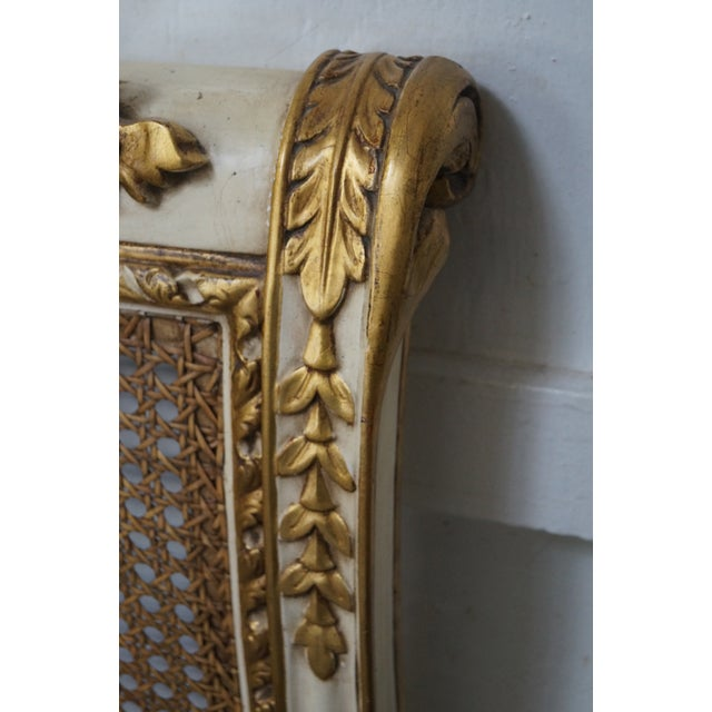 French Louis XV King Sized Headboard - Image 6 of 10