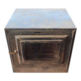 Antique Primitive Griswold Pie Safe, Oven Box #155, Kitchenware For Sale