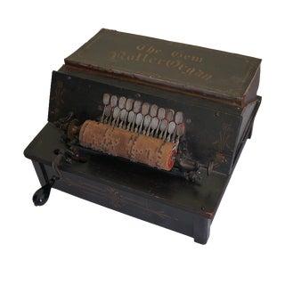 Antique Gem Roller Organ For Sale