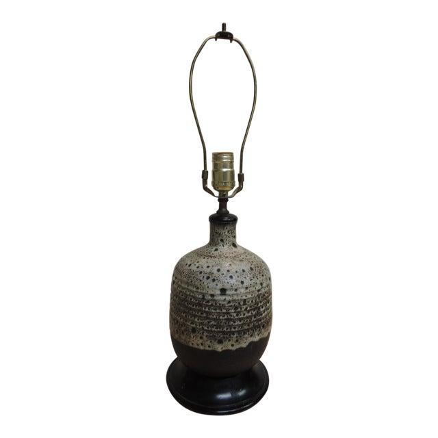 Mid-Century Modern Art Pottery Ceramic Table Lamp - Image 1 of 4