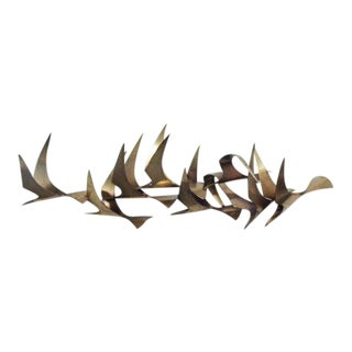 Vintage Mid-Century Curtis Jere Wall Sculpture For Sale