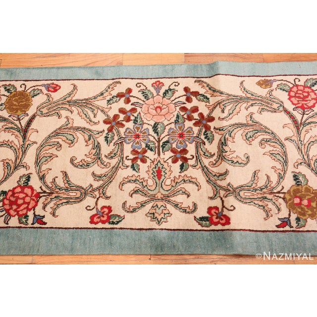 Islamic Tabriz Persian Runner Rug - 2′11″ × 12′10″ For Sale - Image 3 of 8