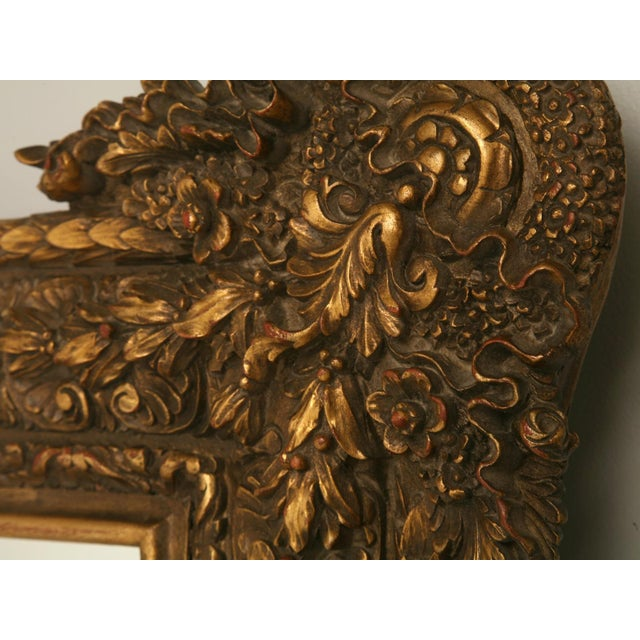 Floor-Size 19th Century English Traditional Giltwood Reproduction Mirror For Sale In Chicago - Image 6 of 9