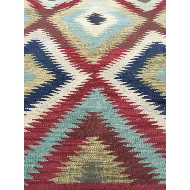 """Hand Knotted Traditional Design Wool Uzbek Rug. 4'8"""" X 6'5"""" For Sale - Image 4 of 7"""