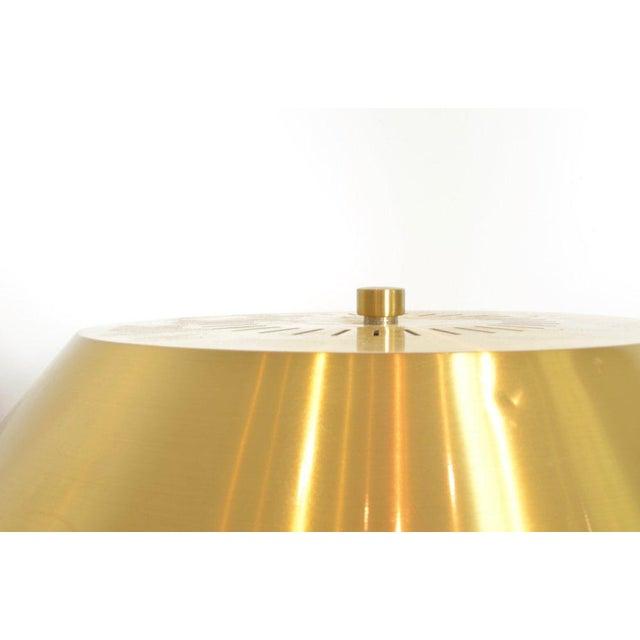 Metal Jo Hammerborg President Brass and Teak Table Lamp For Sale - Image 7 of 10
