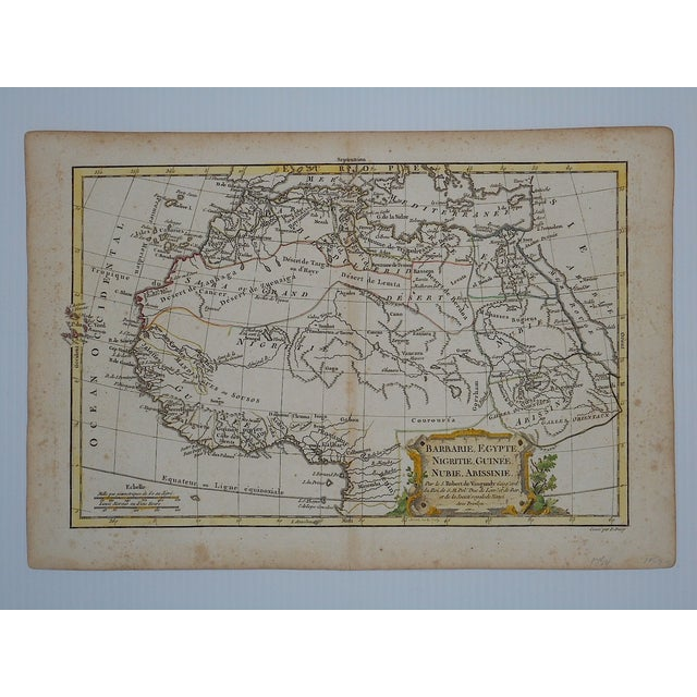 18th C. Africa & N. Africa Maps- Set of 2 - Image 4 of 4