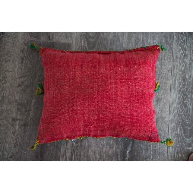 Handmade Berber Pillow - Image 4 of 4