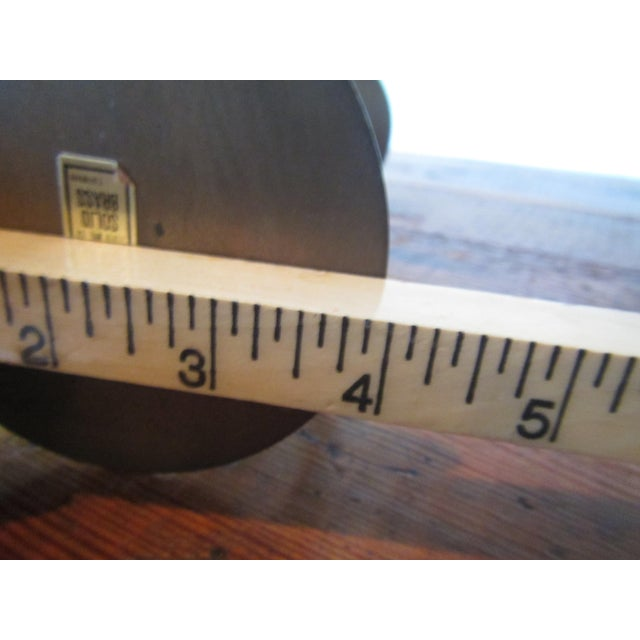Mid-Century Modern Brass Hourglass Sand Timer For Sale - Image 6 of 7