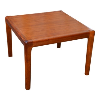 1960s Danish Modern Teak Side Table For Sale