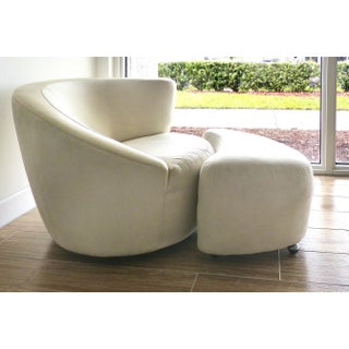 Nautilus Chair & Ottoman by Vladimir Kagan for Directional-Set of 2 Preview