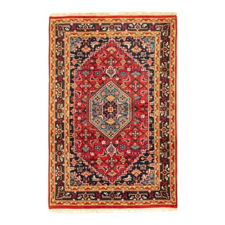 Classic Hand-Knotted Rug For Sale