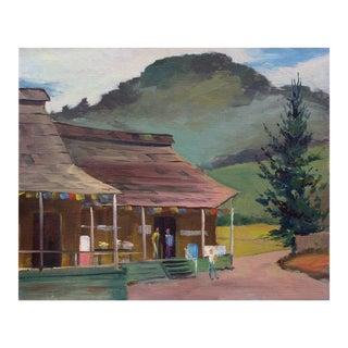 """The Apple Barn"" Painting"