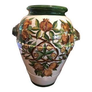 Vintage Italian Olive Jar For Sale