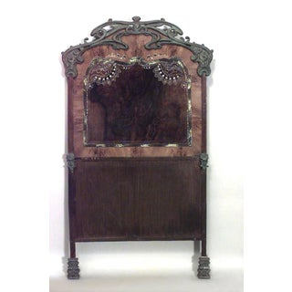 Pair of French Art Nouveau Iron Single Beds Preview