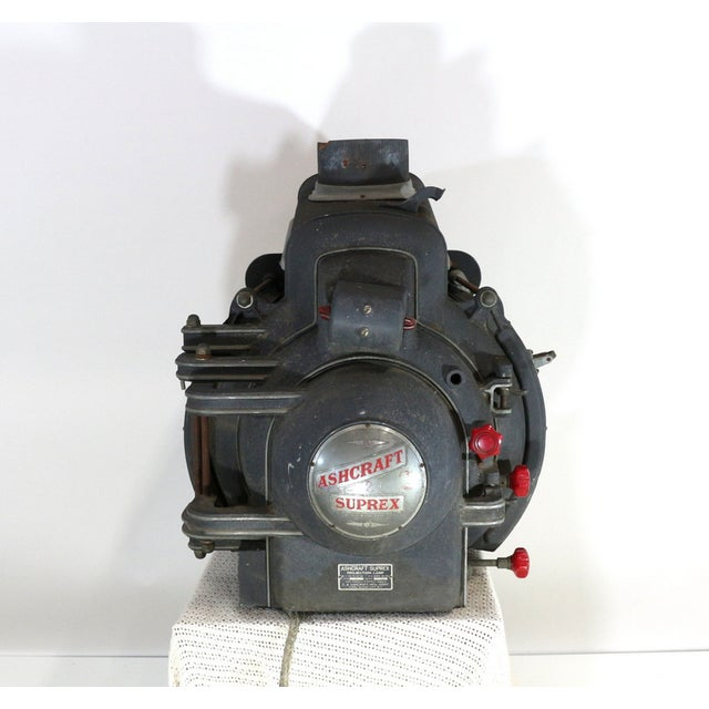 Ashcraft 1930s Movie Theatre Projector Light For Sale - Image 4 of 6
