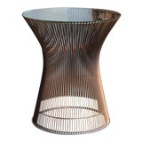 Image of 1965 Warren Platner for Knoll Copper Occasional Table For Sale