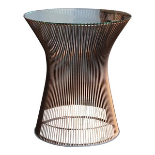 1965 Warren Platner for Knoll Copper Occasional Table For Sale