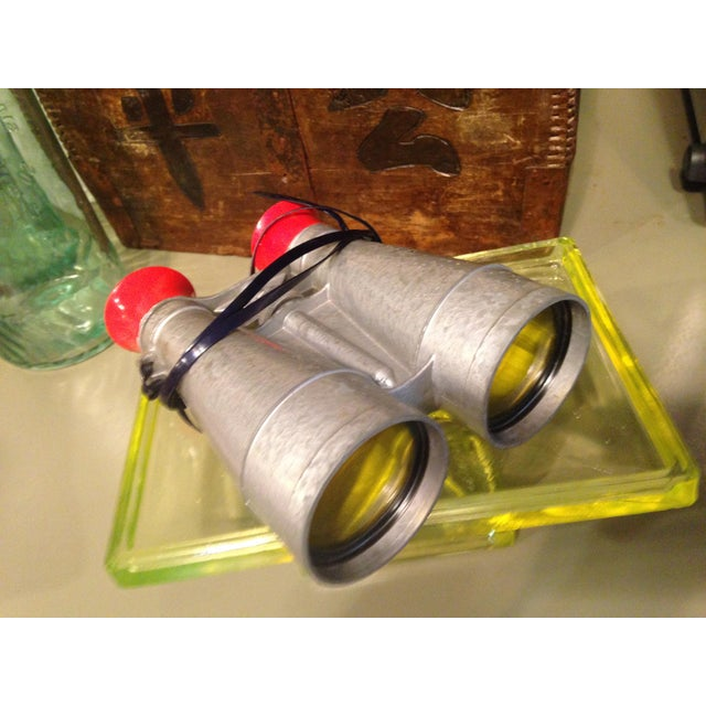 Genuine Tom Corbett space cadet binoculars; manufactured by Galter Products Co. These are surprisingly sturdy binoculars...