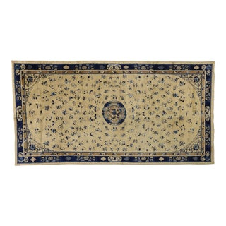 Antique Chinese Peking Rug With Art Deco Chinoiserie Style - 10'02 X 19'03 For Sale